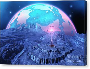 Elterra Canvas Print by Corey Ford