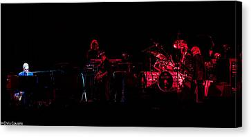 Elton John And Band In 2015 Canvas Print