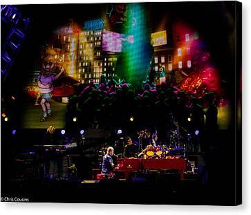 Elton - Sad Songs Canvas Print