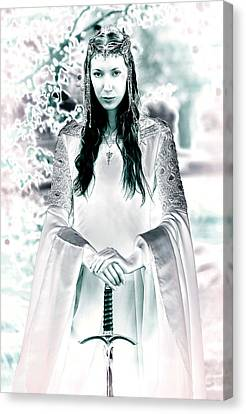 Elven Princess Canvas Print