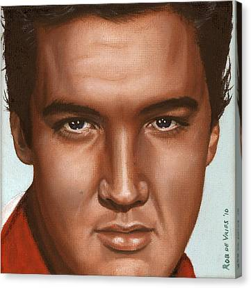 Elvis 24 1958 Canvas Print by Rob De Vries