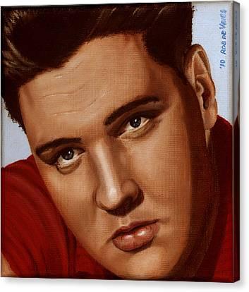 Elvis 24 1959 Canvas Print by Rob De Vries