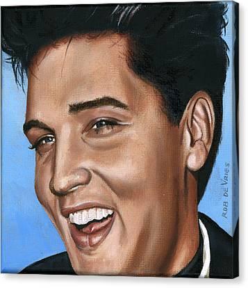 Elvis 24 1960 Canvas Print by Rob De Vries