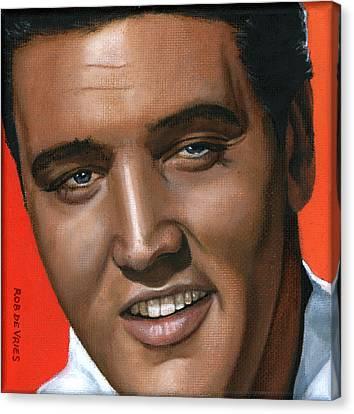 Elvis 24 1961 Canvas Print by Rob De Vries