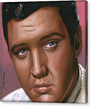 Elvis Canvas Print - Elvis 24 1962 by Rob De Vries