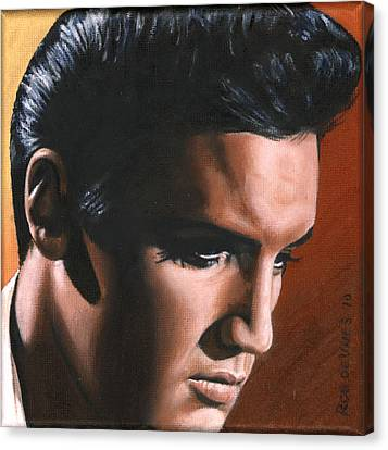 Elvis 24 1963 Canvas Print by Rob de Vries