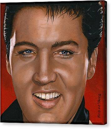Elvis 24 1964 Canvas Print by Rob De Vries