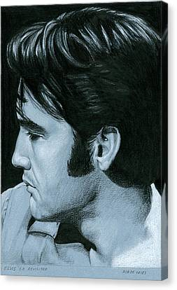 Elvis 68 Revisited Canvas Print