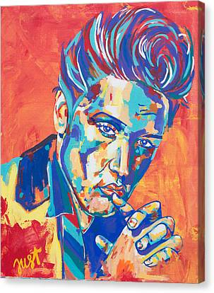 Elvis Canvas Print