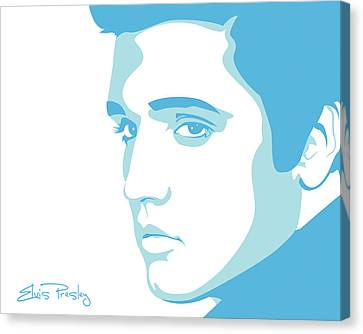 Elvis Canvas Print - Elvis by Mike Maher