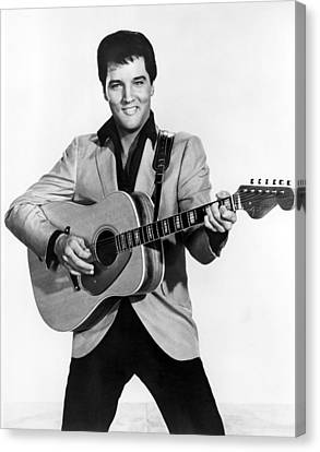 Elvis Presley, C. Mid-1960s Canvas Print by Everett
