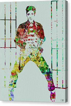 Elvis Presley Canvas Print - Elvis Presley by Naxart Studio