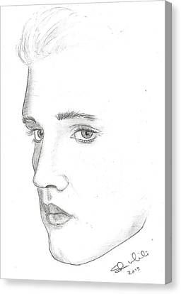 Elvis Canvas Print by Steven White