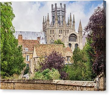 Ely Cathedral, England Canvas Print by Colin and Linda McKie