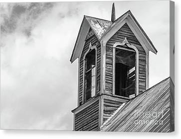 Ely Vermont Barn 1899 Barn Cupola Canvas Print by Edward Fielding