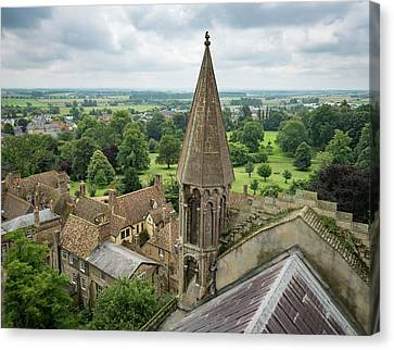 Canvas Print - Ely View by Jean Noren