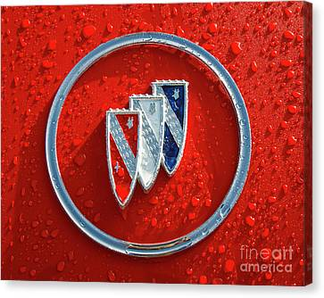 Canvas Print featuring the photograph Emblem by Dennis Hedberg