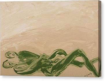 Embrace Canvas Print by Celesty  Claudio