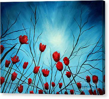 Embrace Canvas Print by Elizabeth Robinette Tyndall