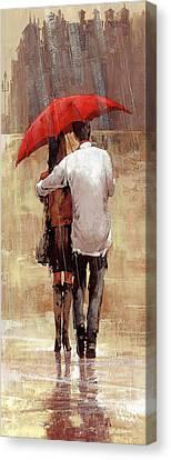 Embrace Canvas Print by Matthew Myles