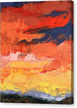 Embrace Canvas Print by Nathan Rhoads