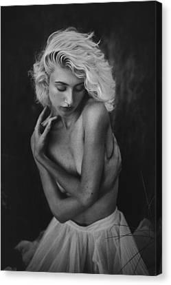Embrace Canvas Print by TJ Drysdale