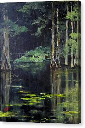 Emerald Bayou Canvas Print
