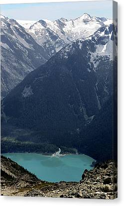 Emerald Cheakamus Lake Whistler Canada Canvas Print by Pierre Leclerc Photography