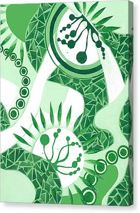 Emerald City Canvas Print by Adrienne McMahon