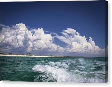 Panama City Beach Canvas Print - Emerald Coast  by Debra Forand