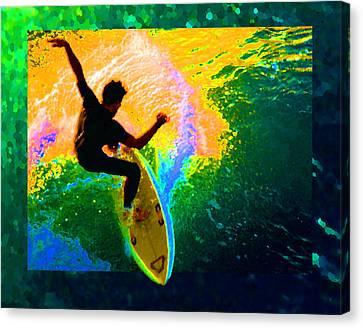 Emerald Dream Canvas Print by Ron Regalado