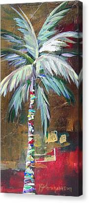 Emerald Fire Palm  Canvas Print