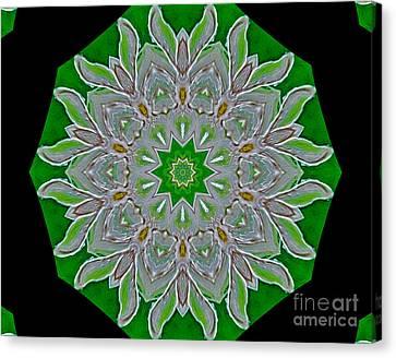 Emerald Green Canvas Print by Marsha Heiken