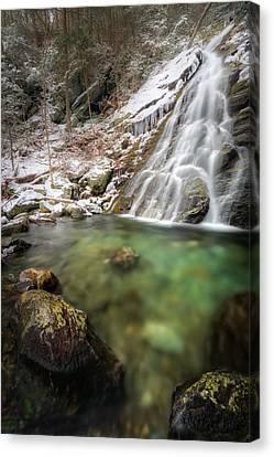 Emerald Ice Canvas Print