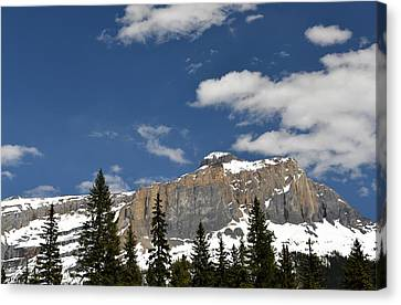 Emerald Lake Mountains Canvas Print