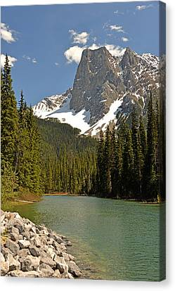 Emerald Lake Vista Canvas Print