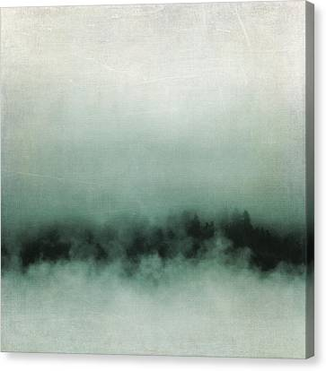 Canvas Print featuring the photograph Emerald Mist by Sally Banfill