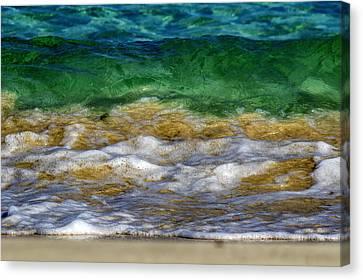 Emerald Sea Canvas Print by Stelios Kleanthous