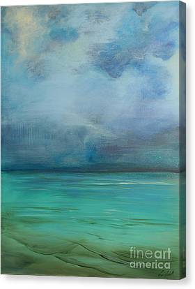 Emerald Waters Canvas Print by Michele Hollister - for Nancy Asbell