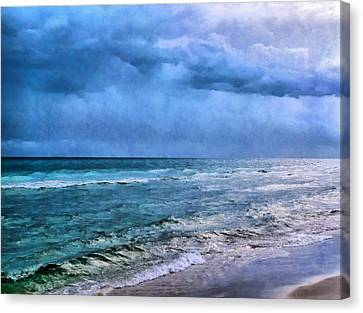 Emerald Waters Canvas Print by Theresa Campbell