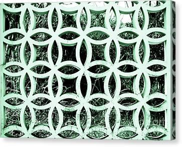Emerald Window 2 Angeloff J Canvas Print