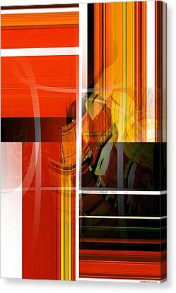 Emerging Concrete Life Canvas Print by Thibault Toussaint