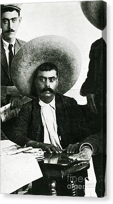 Emiliano Zapata Canvas Print by Science Source