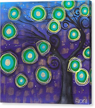 Emilio Tree Canvas Print by  Abril Andrade Griffith