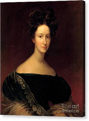 First Ladies Canvas Print - Emily Donelson, First Lady by Science Source