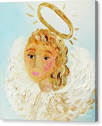 Emily Canvas Print by Eloise Schneider