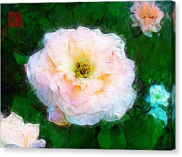 Emily's Rose Canvas Print