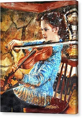 Canvas Print - Emma's Violin by Seth Weaver