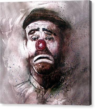 Emmit Kelly Clown Canvas Print