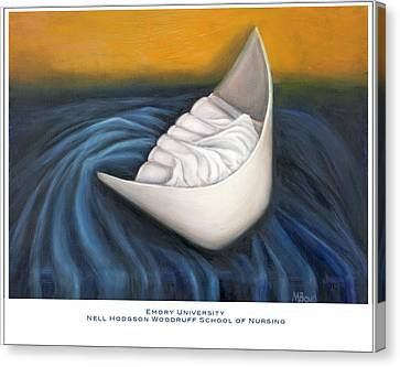 Emory University Nell Hodgson Woodruff School Of Nursing Canvas Print by Marlyn Boyd